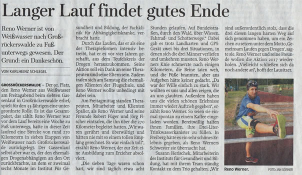 Freie Presse - run and gone
